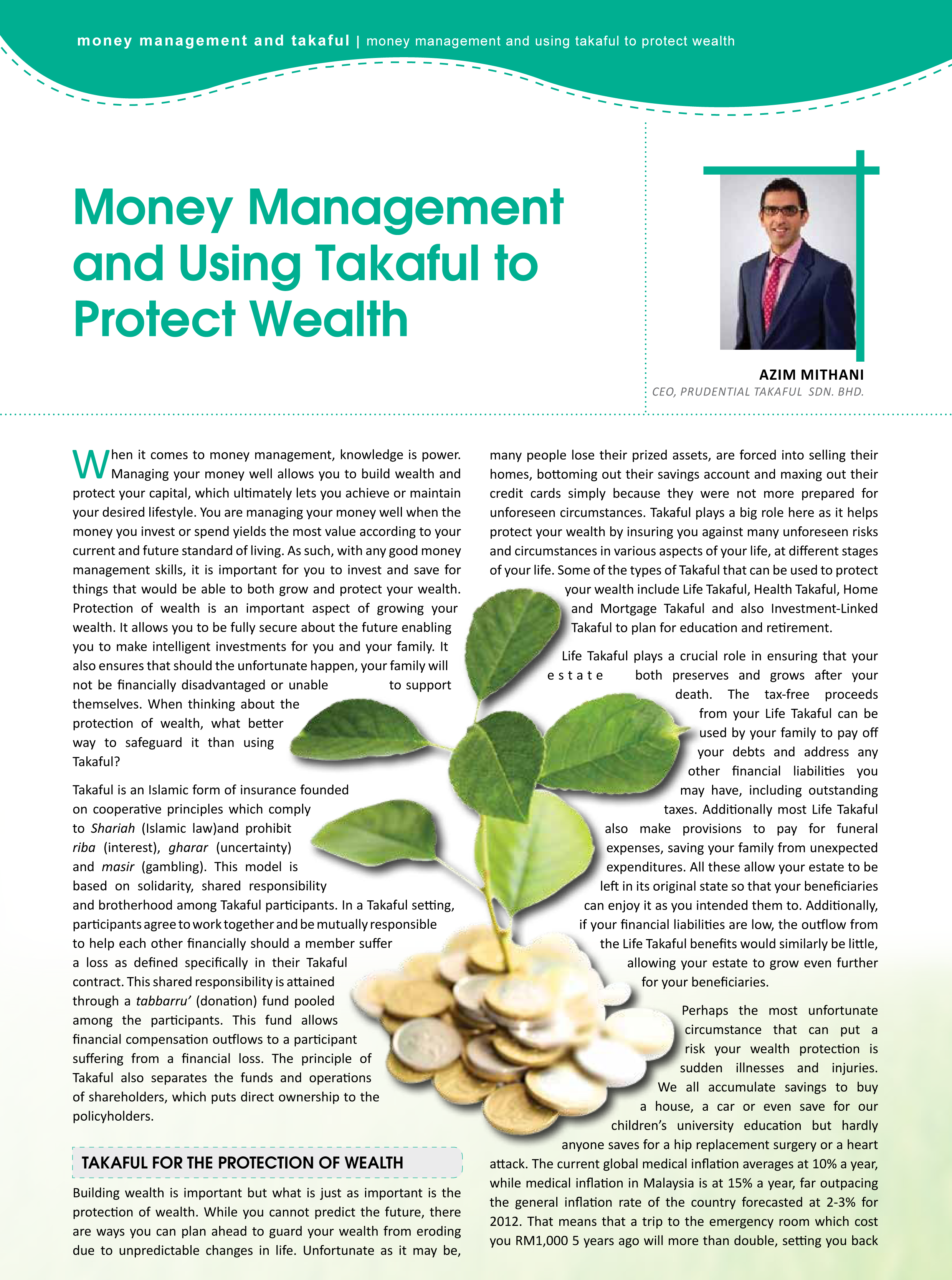 risk management and shareholders wealth