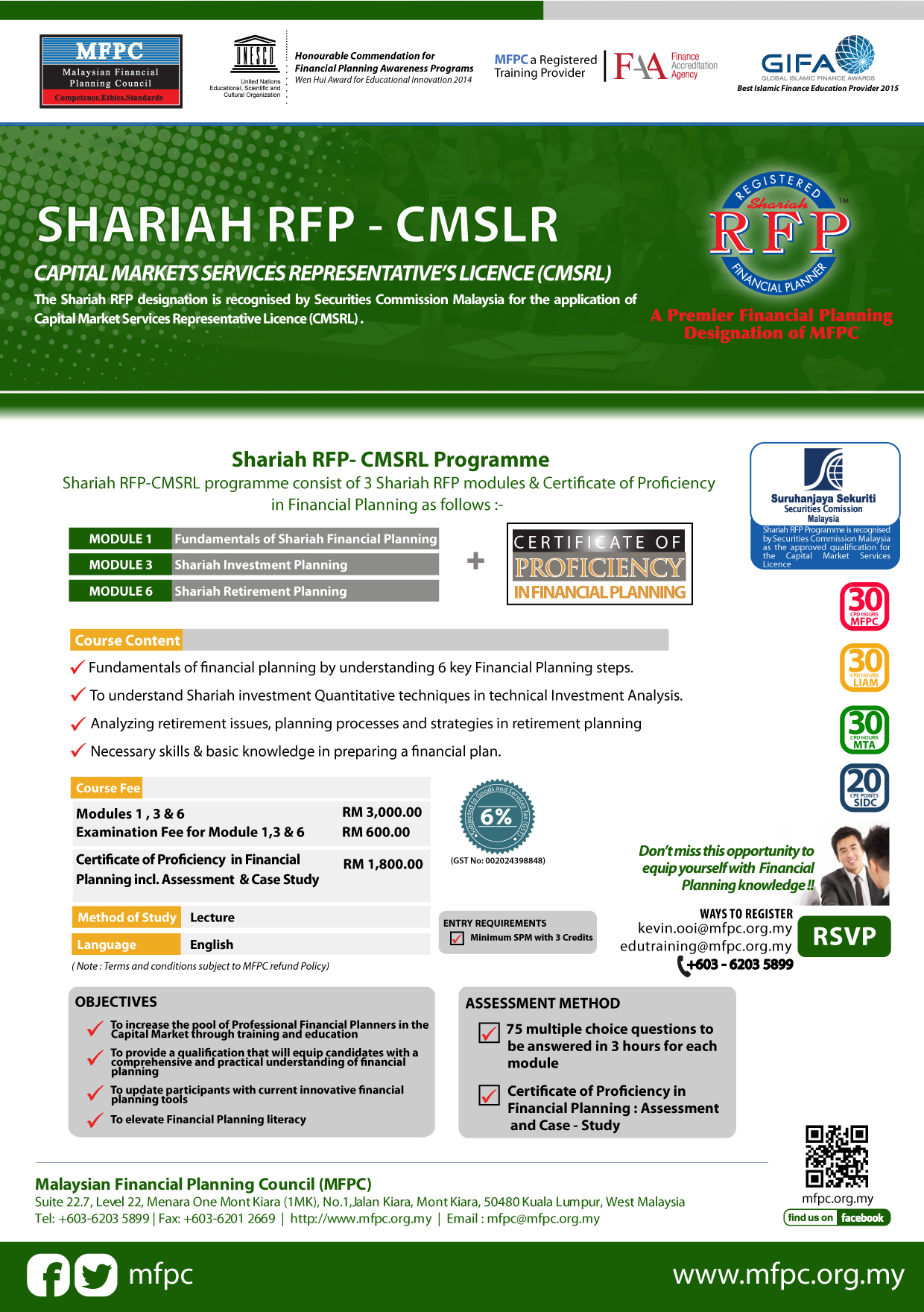 Shariah registered financial planner shariah rfp malaysian click image for pdf format xflitez Gallery